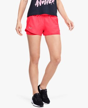 Women's UA Fly-By 2.0 Mini 2-in-1 Shorts